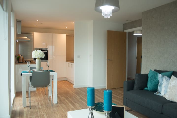 Modern apartment in the heart of Media City UK