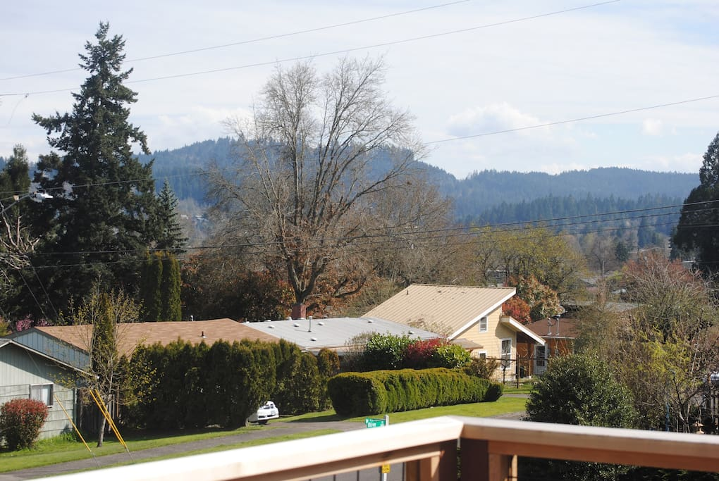 southeast view from deck