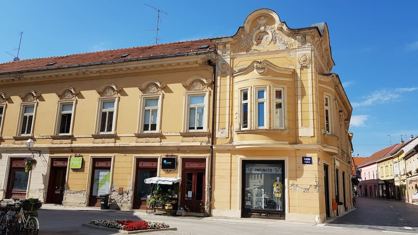 Luxury apartment in the heart of Varaždin ****