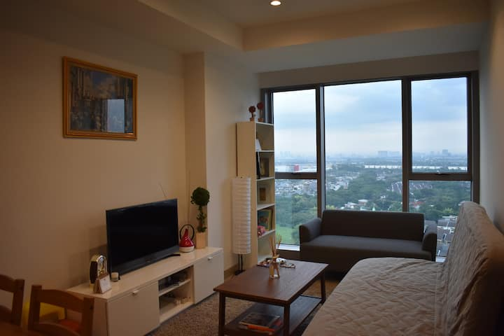 Newly & Cozy @Branz Apt; near Aeon Mall & ICE BSD
