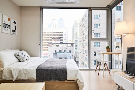 Cloud 9 : Modern and Clean - home away from home - Gangnam-gu - Wohnung
