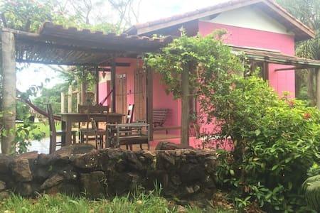 Casa Rosa Sítio Jequitibá - Morro do Cuzcuzeiro