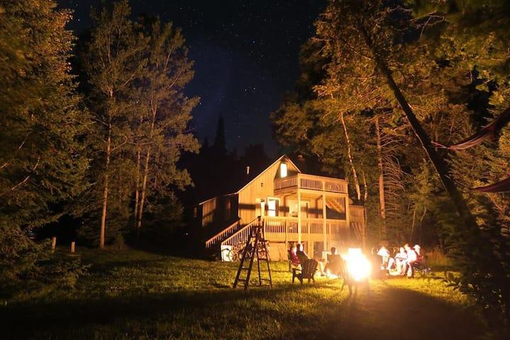 Lake Michigan enchantment ,  under the stars