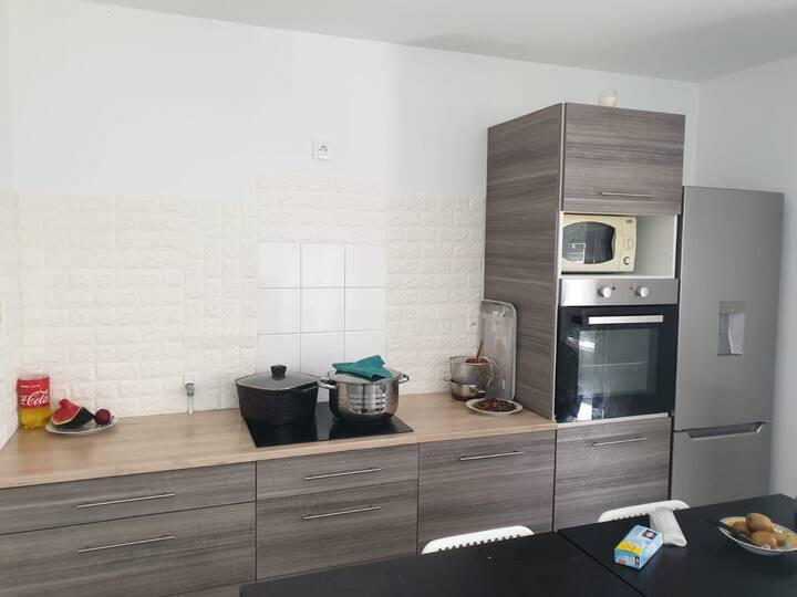 Chambre privée dans un Appartement neuf Rennes
