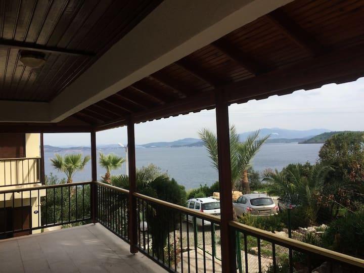 Foca Beautiful 4BR Beach Villa with great views