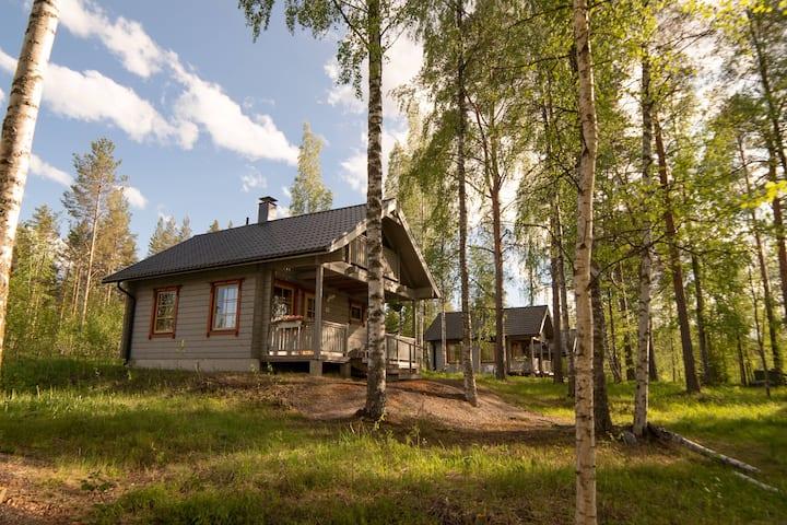 Holiday Village Kukkapaa. Cottage with lake view