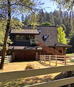 Adjacent to Redwood National Park