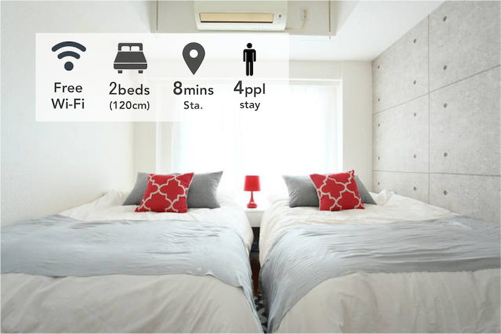 New! center of SHIBUYA cozy apt +wifi - Shibuya-ku