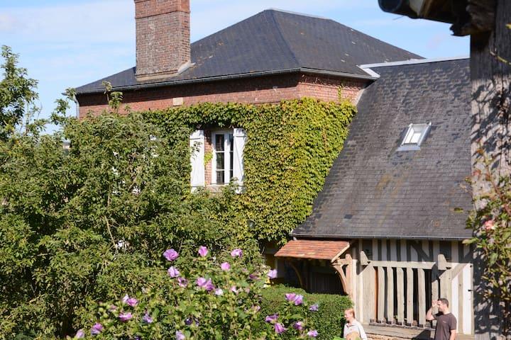 charmant boerenhuis in Normandisch dorpje (11 pl.) - Basse-Normandie - Rumah