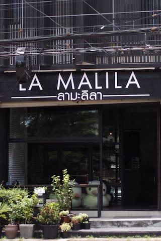 Loft Room2/La Malila Hostel in Udon Thani,Thailand