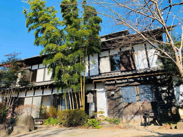 About 130-year-old house in the Mt.Akagi, Gunma.