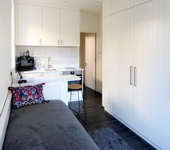 Private modern studio with own entrance + parking