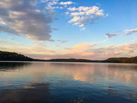 Cozy Cottage Getaway with Stunning Big Lake Views!