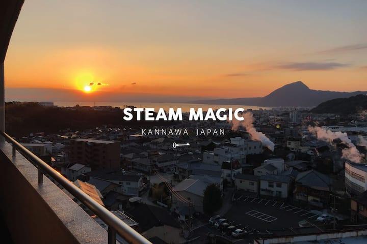 STEAM MAGIC ROOM III* Free PARK* mWiFi* 8p* VIEW++
