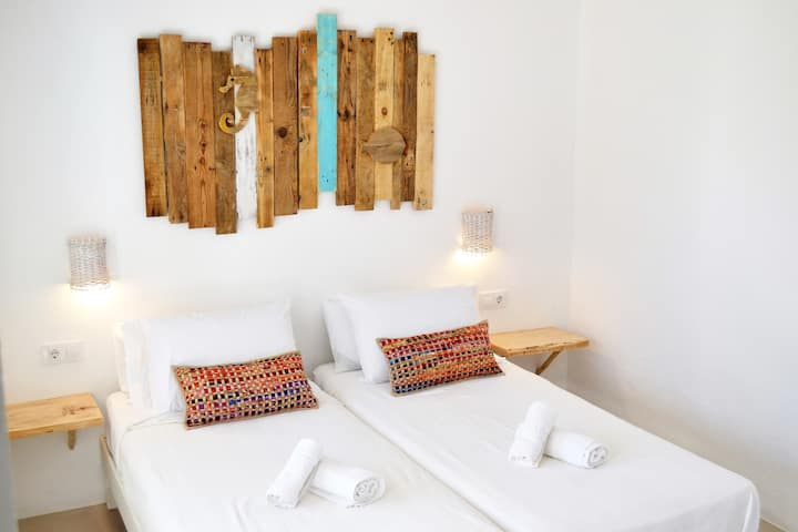 Estudio boutique ideal parejas en Playa Migjorn