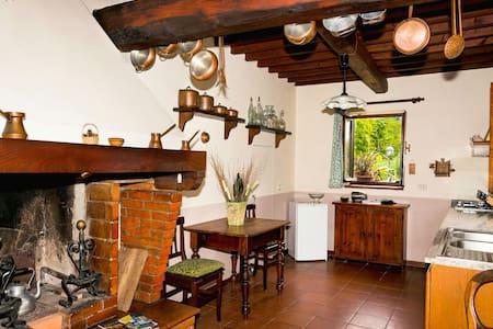 la casa  bianca in Toscana - Leccio - Lägenhet
