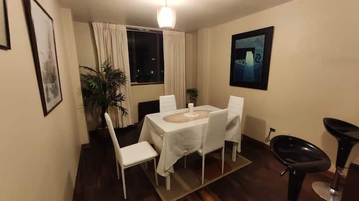 Lindo apartamento en zona céntrica y segura