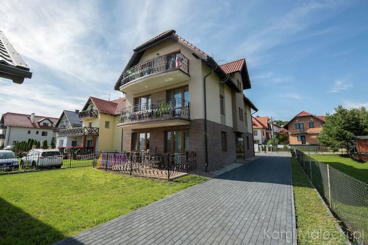 Comfortable apartment for 5 people in Krynica Morska