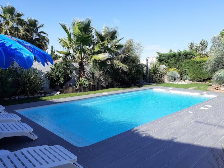 Villa Cap d'Agde dans la Pinéde