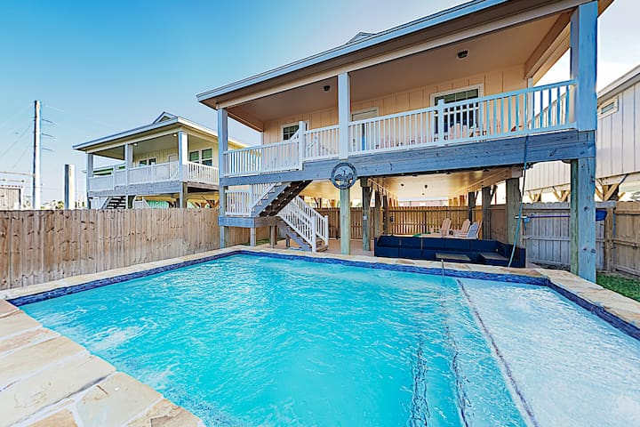 Prime Getaway w/ Private Pool, Walkable Locale
