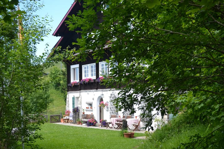 bed and breakfast on mount Rigi