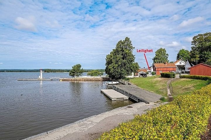 Koselig lite hus i Tønsberg sentrum - Tønsberg - Departamento