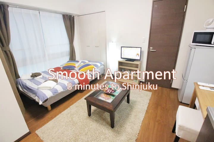Smooth Apartment Close Shinjuku/Koenji KB#22R