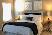 Come relax in the master suite!