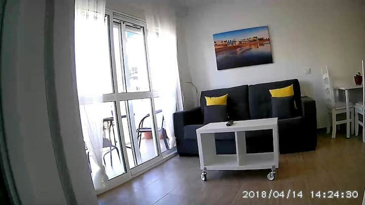 Apartamento Playa Victoria de Cadiz Estadio. NEW