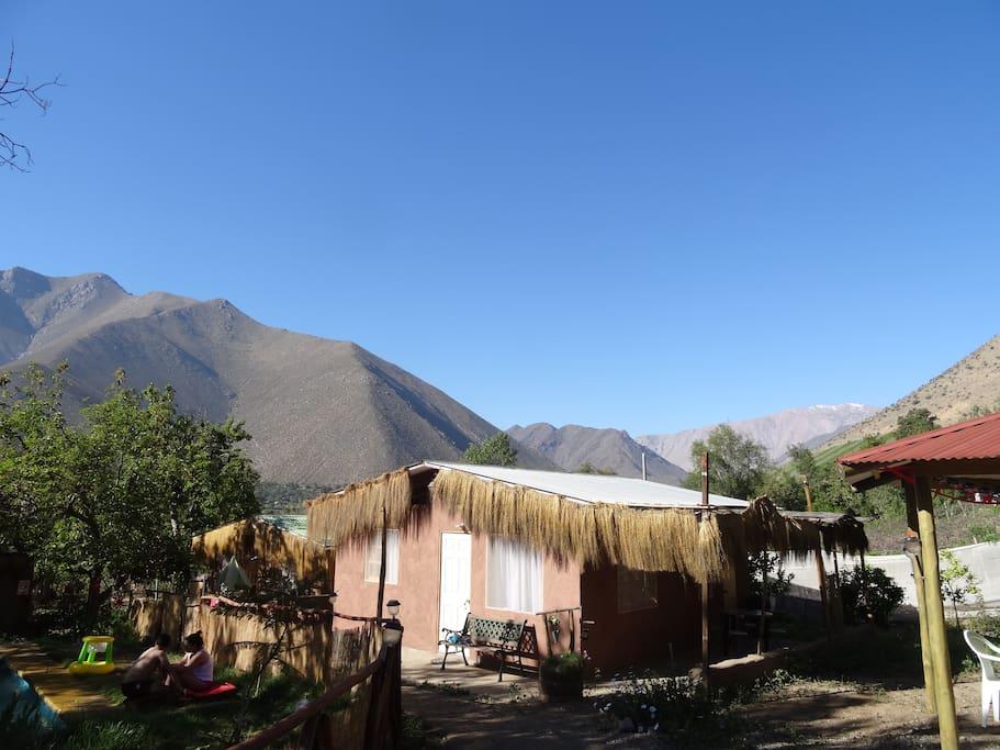 We have two beautifull cabins down of Peralillo Hill // Tenemos dos hermosas cabañas a los pies del Cerro Peralillo.