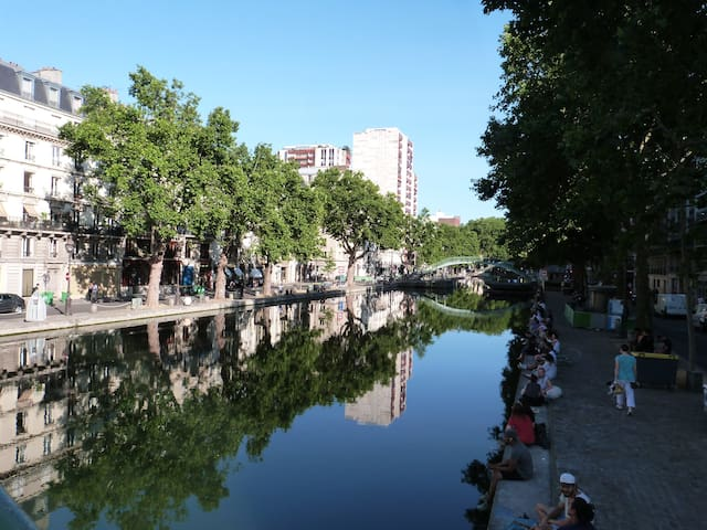 Charmant Studio au détour du Canal Saint-Martin