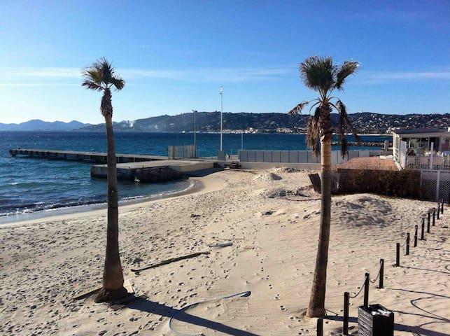Très agréable studio 70m des plages - Antibes - Appartement en résidence