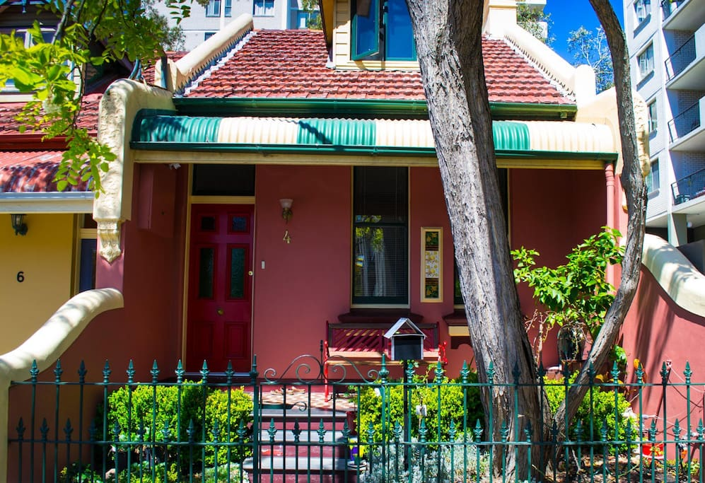 Terrace house close to city room1 glebe for Terrace house full episodes