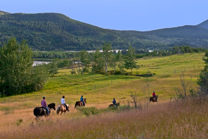 Beautiful rolling ranch land