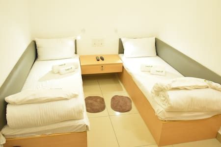 A/C Double Room in Freshup Tiruvannamalai