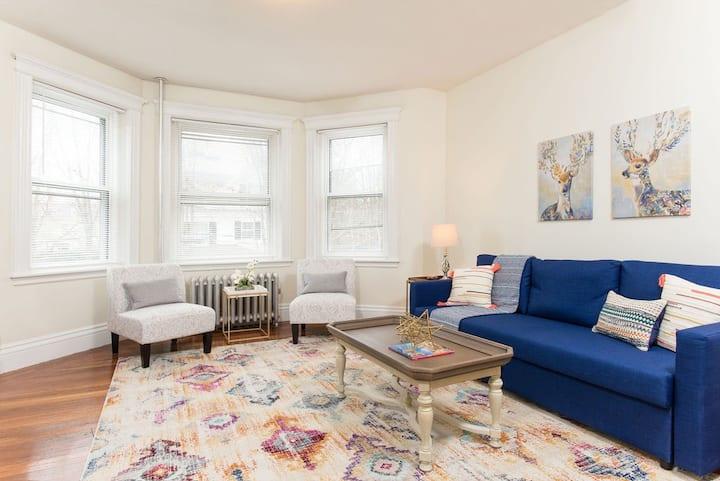 Cozy Apartment - BU / Fenway / Longwood Medical
