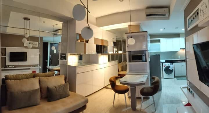 Luxury Apt 2 BR with Private Entrance at Menteng