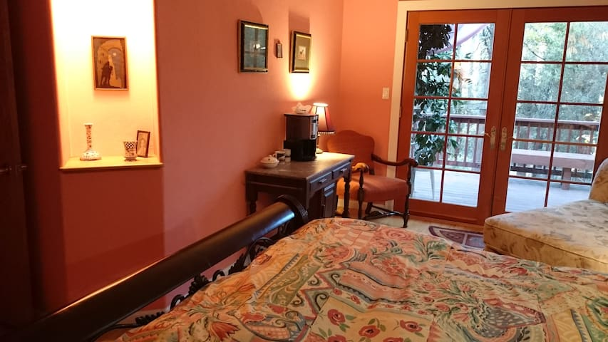 Private guest suite close to town - Nevada City - Haus