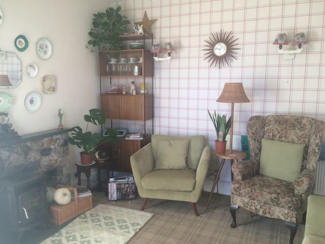 Comfortable guest lounge for relaxing