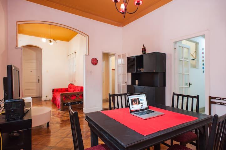 Apartamento 60m2, acogedor, vintage, p/ 4 personas - Buenos Aires