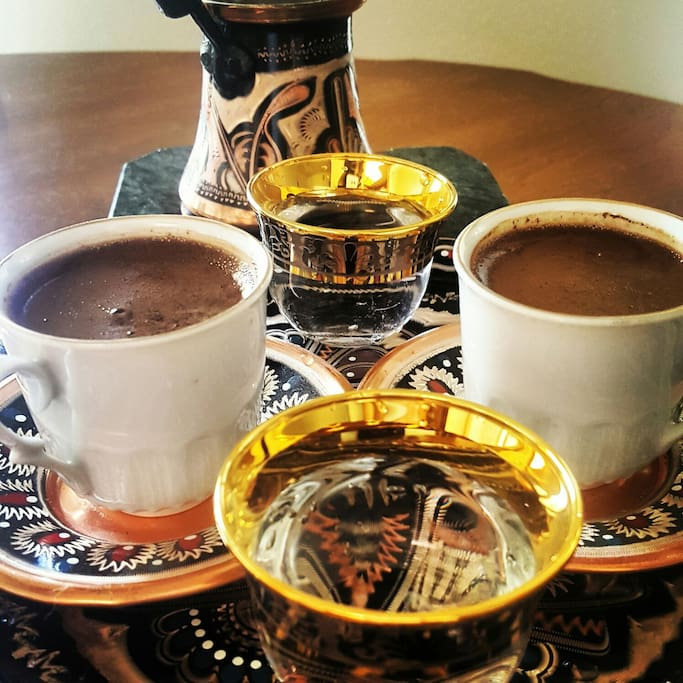 If you want, we will make turkish coffee for you when you arrive ☺