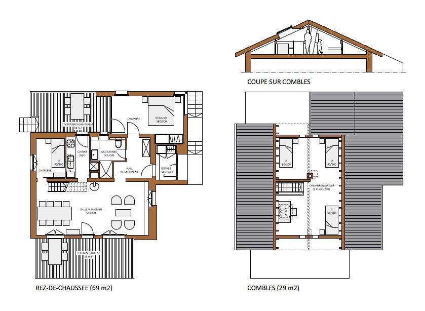 emejing amenager studio 25m2 contemporary. Black Bedroom Furniture Sets. Home Design Ideas