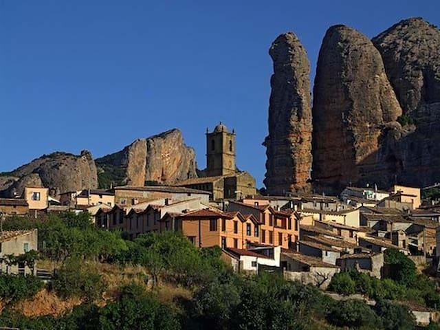 Casa en Agüero, Huesca. - Agüero - Apartemen