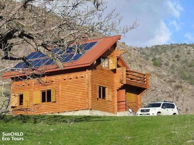Wooden House in Khosrov Forest State Reserve