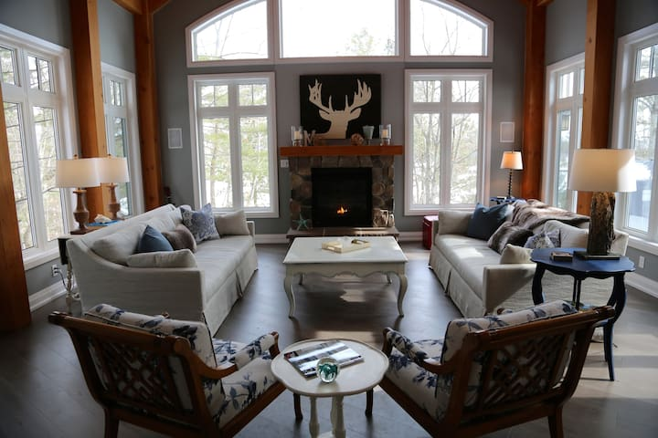 Muskoka Soul | Luxury Escapes  | Cliff Bay House - Gravenhurst - Casa