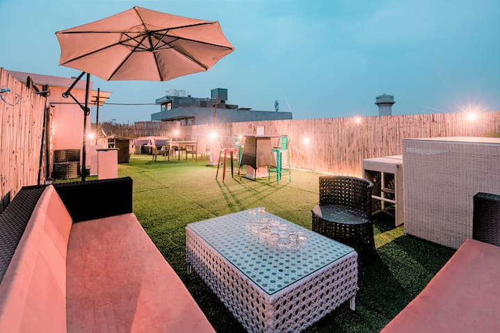 4. Relax. Chill out. Party  3bhk modern interiors