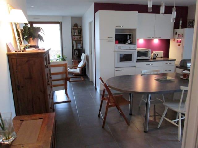 Appartement calme 61 m2, terrasse plein Sud - Francheville - Daire