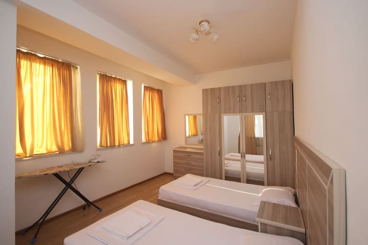 One Bedroom Apartment With Balcony In The Center
