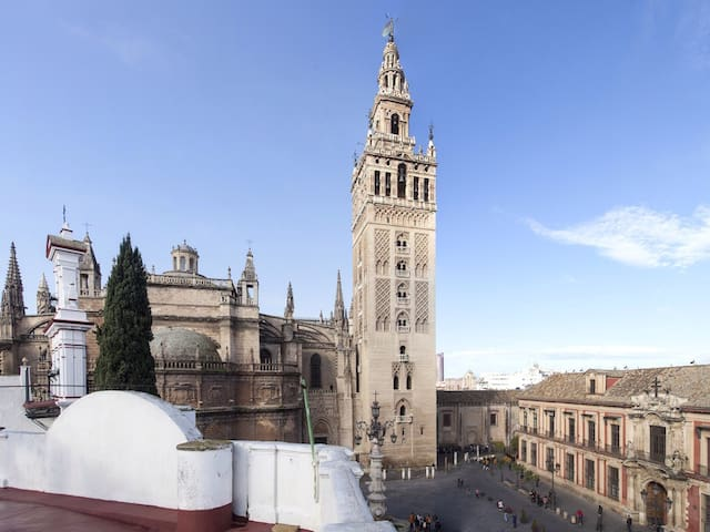 YOU'LL LOVE IT. Front of Giralda - Sevilla - Pis
