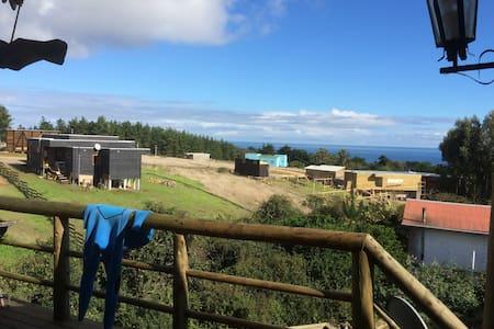 habitaciones privadas , vista al mar y alrededores - 披市勒亩(Pichilemu) - 住宿加早餐